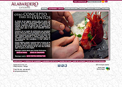 The Art Room - Diseño Web - www.alabarderocatering.es